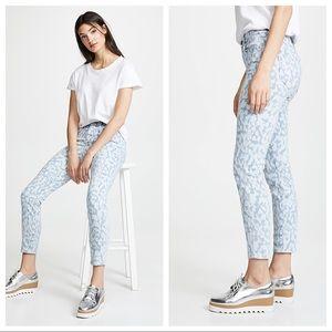 Current/Elliott High Waist Animal Print Jeans
